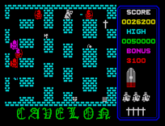 Cavelon ZX Spectrum 21