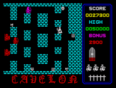 Cavelon ZX Spectrum 22