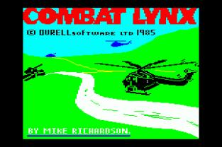Combat Lynx Amstrad CPC 01