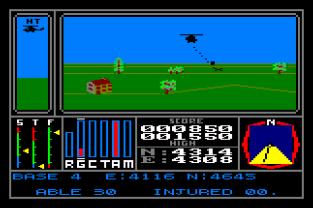 Combat Lynx Amstrad CPC 31
