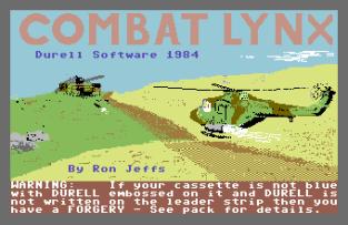 Combat Lynx C64 01