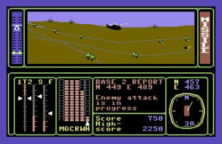 Combat Lynx C64 23