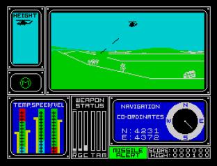 Combat Lynx ZX Spectrum 12