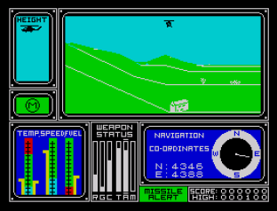 Combat Lynx ZX Spectrum 20