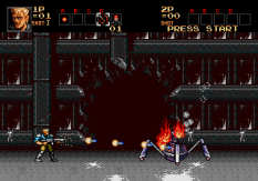 Contra Hard Corps Megadrive 011