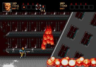 Contra Hard Corps Megadrive 012