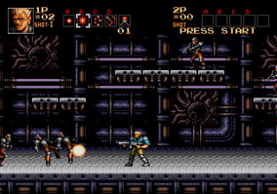 Contra Hard Corps Megadrive 042