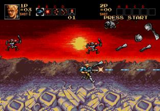 Contra Hard Corps Megadrive 056