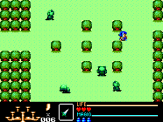 Golden Axe Warrior SMS 21