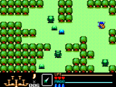 Golden Axe Warrior SMS 22