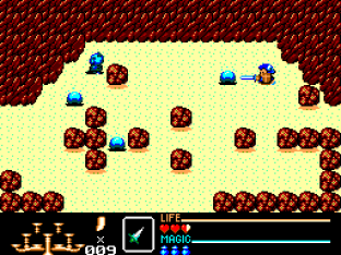 Golden Axe Warrior SMS 31