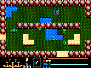 Golden Axe Warrior SMS 42