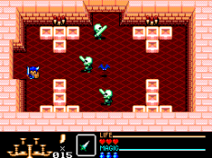 Golden Axe Warrior SMS 66