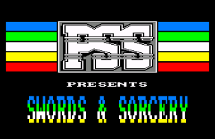 Swords and Sorcery Amstrad CPC 01