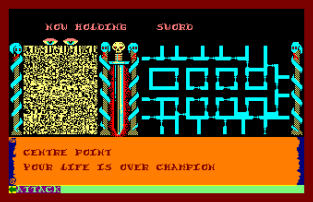 Swords and Sorcery Amstrad CPC 09