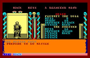 Swords and Sorcery Amstrad CPC 12