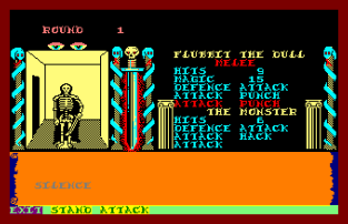 Swords and Sorcery Amstrad CPC 20