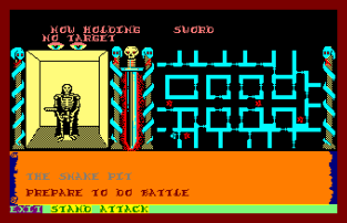 Swords and Sorcery Amstrad CPC 23