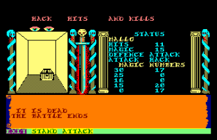Swords and Sorcery Amstrad CPC 31