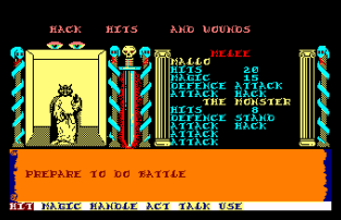 Swords and Sorcery Amstrad CPC 34