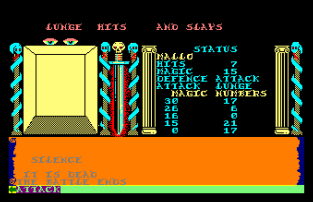 Swords and Sorcery Amstrad CPC 45