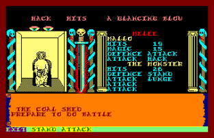 Swords and Sorcery Amstrad CPC 53