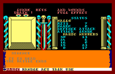 Swords and Sorcery Amstrad CPC 55
