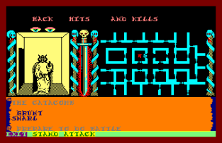 Swords and Sorcery Amstrad CPC 56