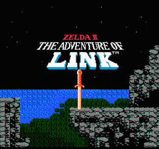 Zelda 2 - The Adventure of Link NES 01