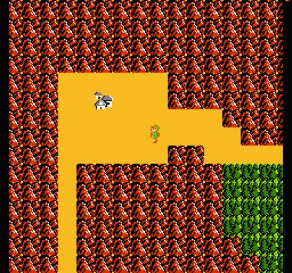 Zelda 2 - The Adventure of Link NES 09