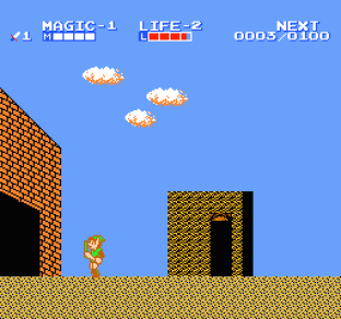 Zelda 2 - The Adventure of Link NES 12