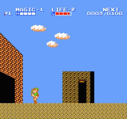Zelda 2 - The Adventure of Link NES 12