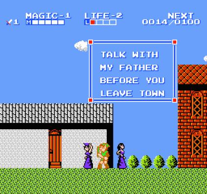 Zelda 2 - The Adventure of Link NES 20