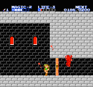 Zelda 2 - The Adventure of Link NES 64