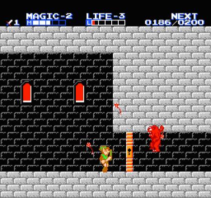 Zelda 2 - The Adventure of Link NES 64