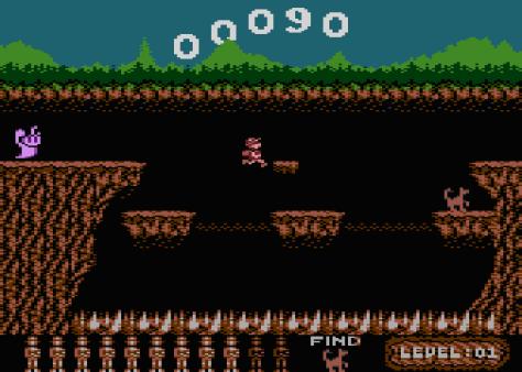 Cavernia, Atari 800 | The King of Grabs