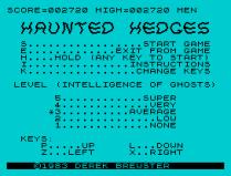 haunted hedges zx spectrum 08