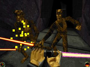 jedi knight - mysteries of the sith pc 98
