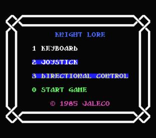knight lore msx 01