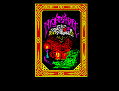 Nightshade ZX Spectrum Loading Screen.