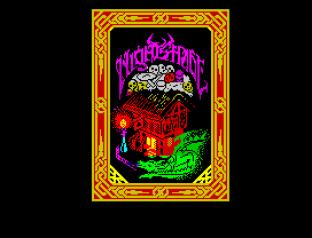 Nightshade ZX Spectrum Loading Screen.