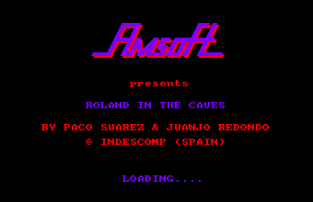 roland in the caves amstrad cpc 01