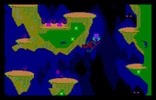 roland in the caves amstrad cpc 12