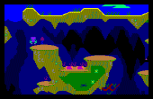 roland in the caves amstrad cpc 14