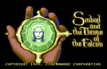 sinbad and the throne of the falcon c64 05