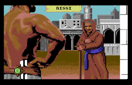 sinbad and the throne of the falcon c64 09