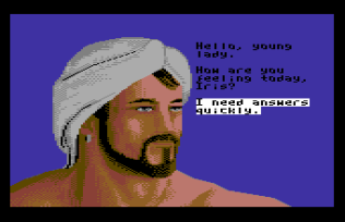sinbad and the throne of the falcon c64 10