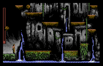sinbad and the throne of the falcon c64 12