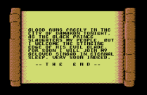 sinbad and the throne of the falcon c64 13