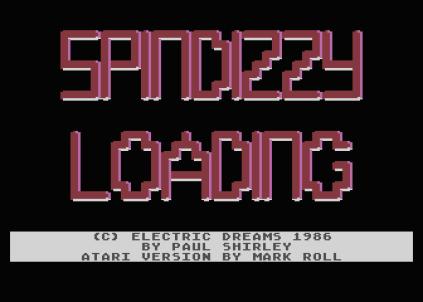 spindizzy atari 800 01
